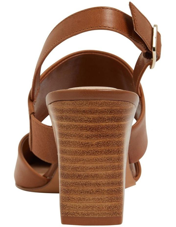 Kitson Cognac Glove Heeled Shoes image 5
