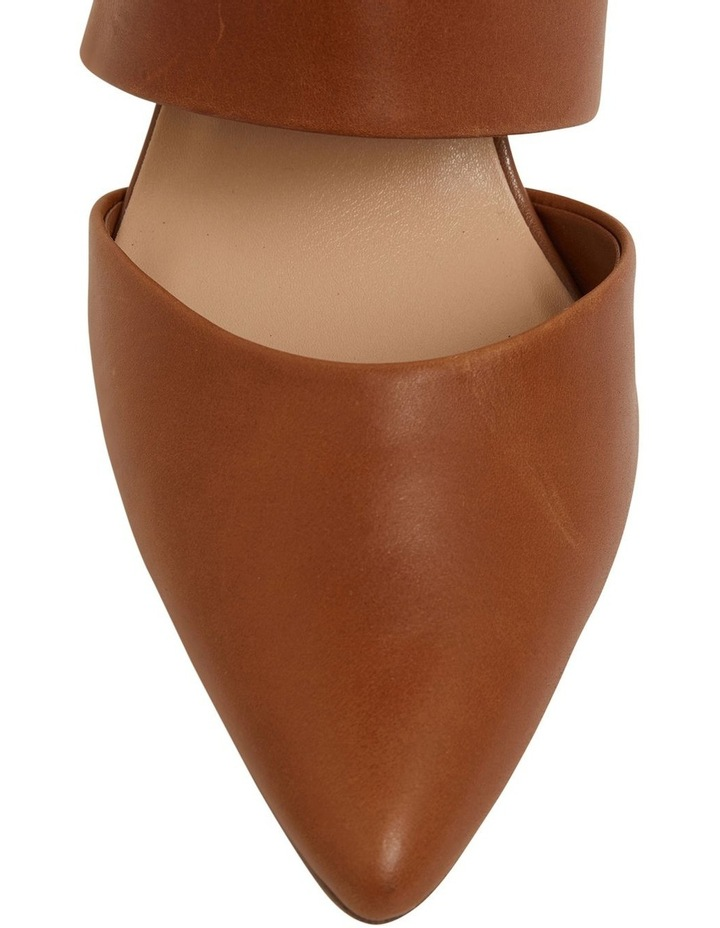 Kitson Cognac Glove Heeled Shoes image 6