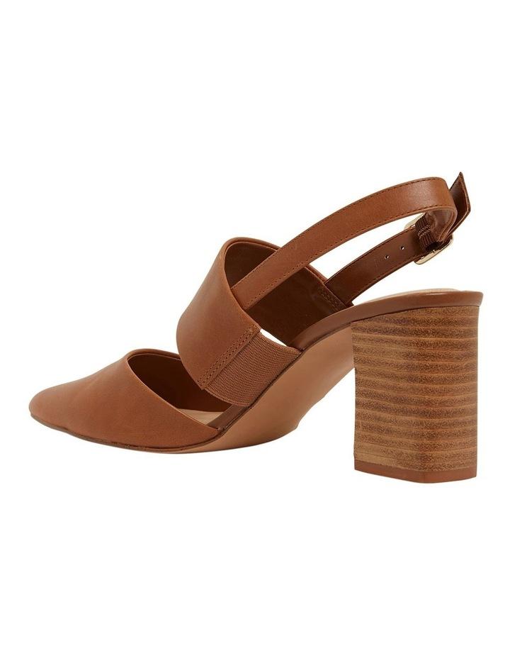 Kitson Cognac Glove Heeled Shoes image 7
