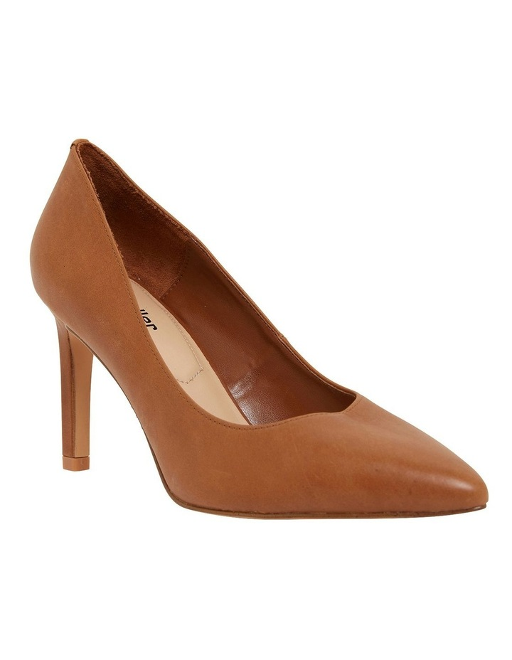 Octavia Cognac Glove Heeled Shoes image 2