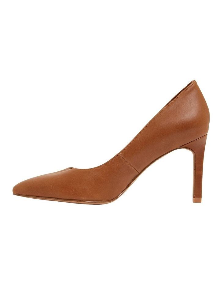 Octavia Cognac Glove Heeled Shoes image 3