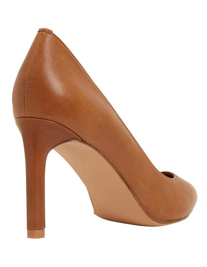Octavia Cognac Glove Heeled Shoes image 4