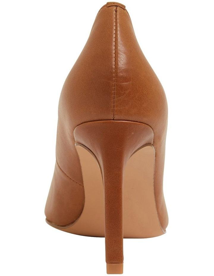 Octavia Cognac Glove Heeled Shoes image 5