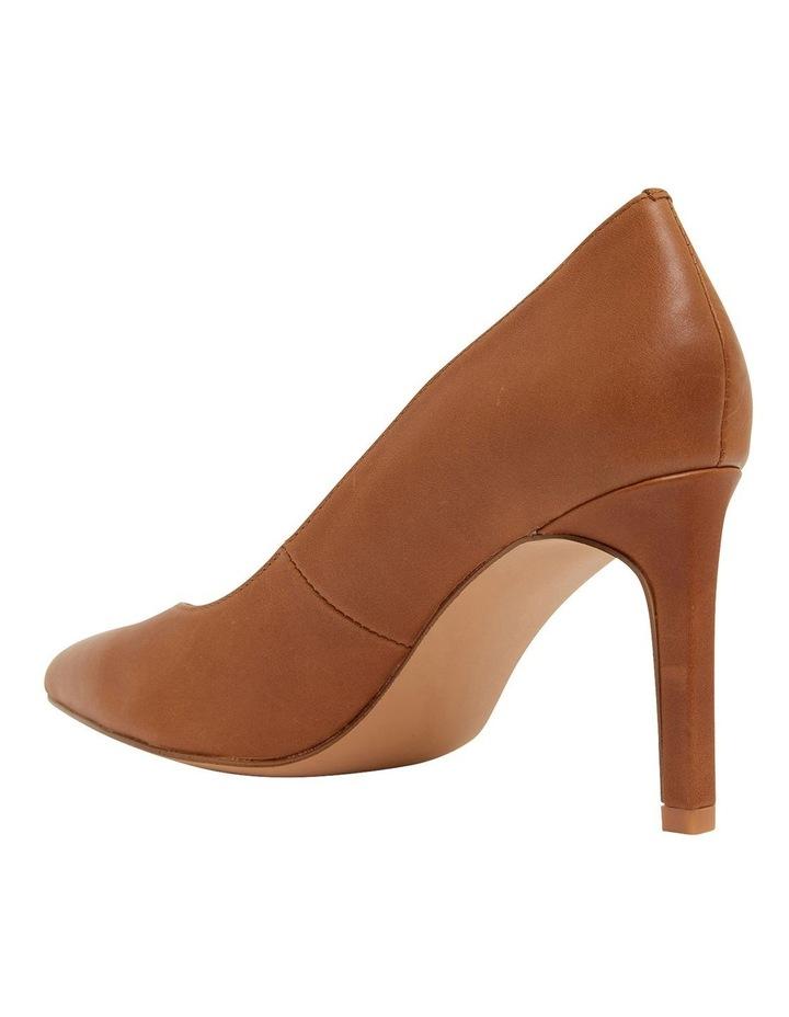 Octavia Cognac Glove Heeled Shoes image 6
