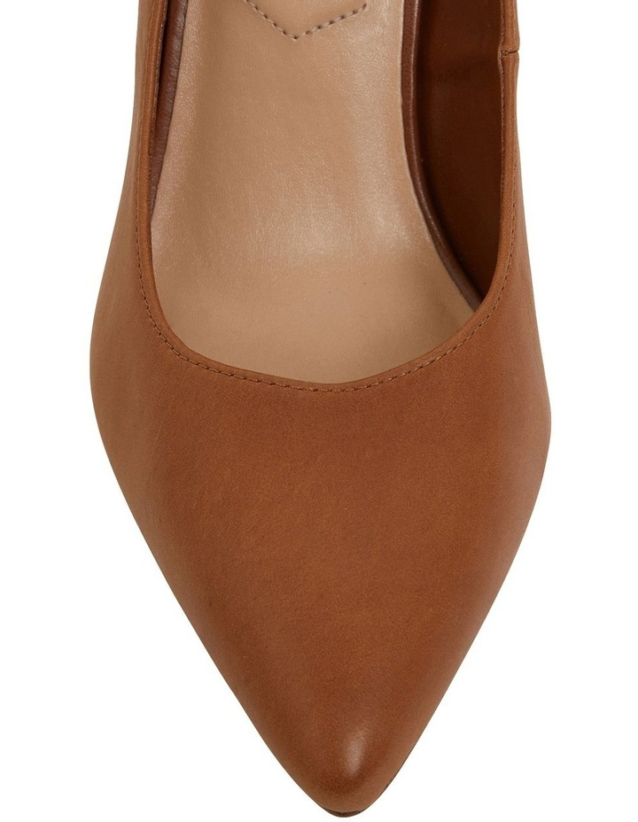 Octavia Cognac Glove Heeled Shoes image 7