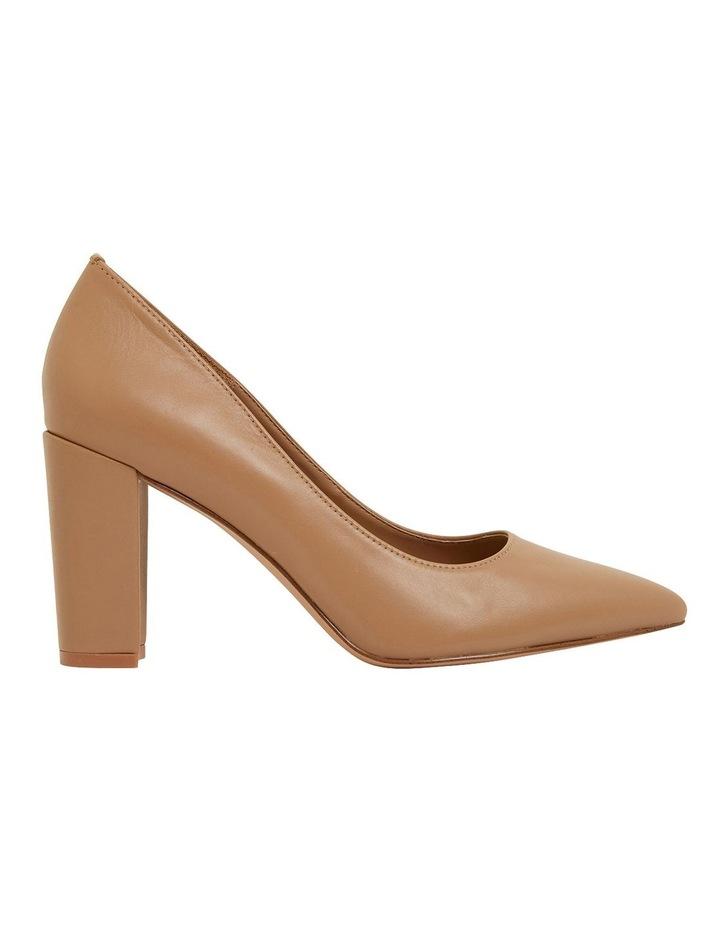Lyric Camel Glove Heeled Shoes image 1