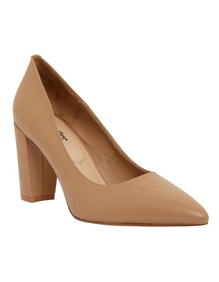 Lyric Camel Glove Heeled Shoes image 2