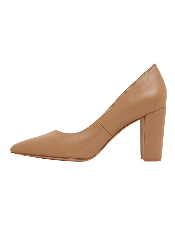 Lyric Camel Glove Heeled Shoes image 3