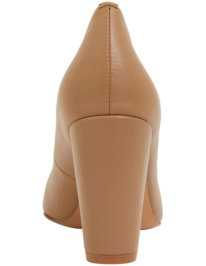 Lyric Camel Glove Heeled Shoes image 5
