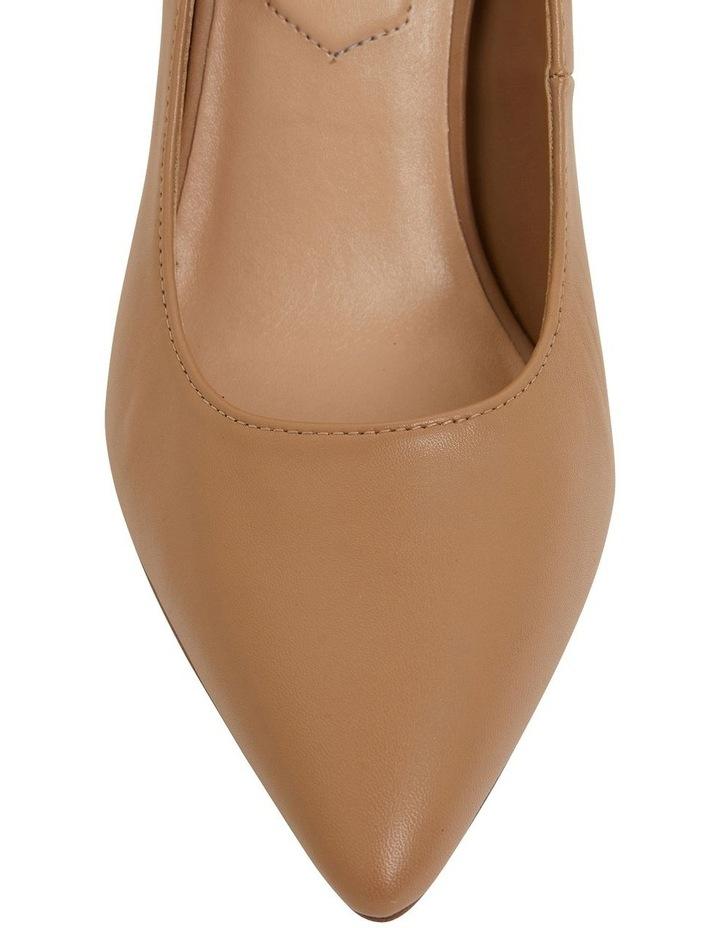 Lyric Camel Glove Heeled Shoes image 7