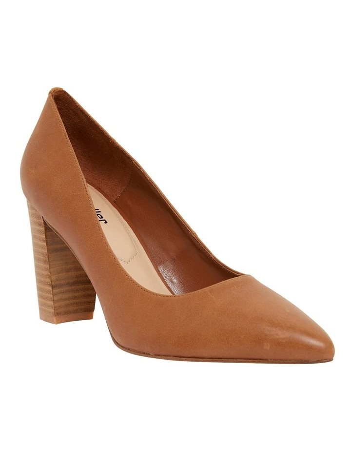 Lyric Cognac Glove Heeled Shoes image 2