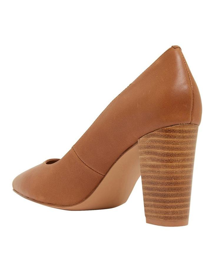 Lyric Cognac Glove Heeled Shoes image 6