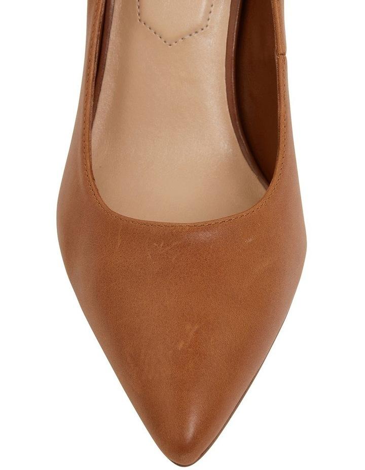 Lyric Cognac Glove Heeled Shoes image 7