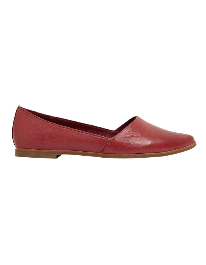 Rachael Red Glove Flat Shoes image 1