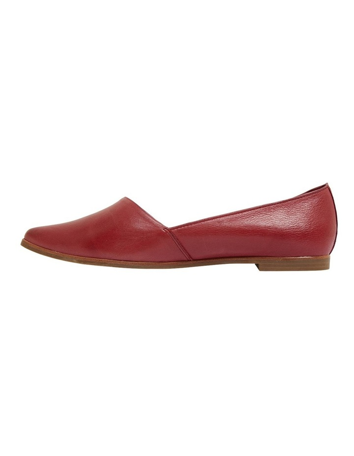 Rachael Red Glove Flat Shoes image 3