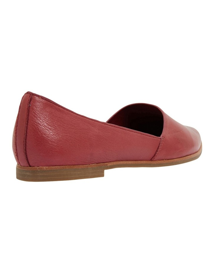 Rachael Red Glove Flat Shoes image 4