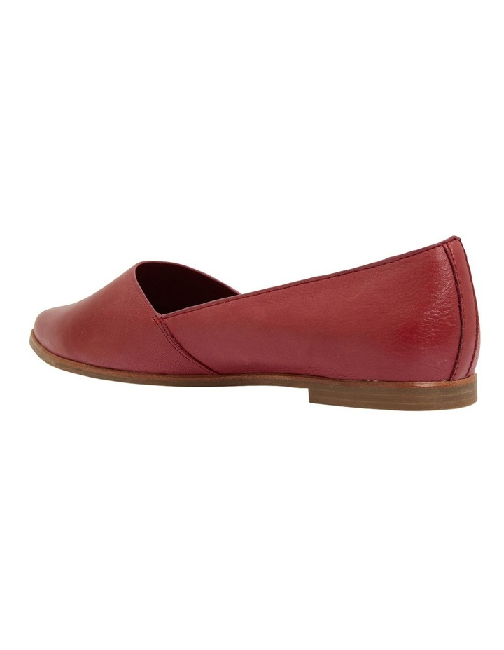 Rachael Red Glove Flat Shoes image 6
