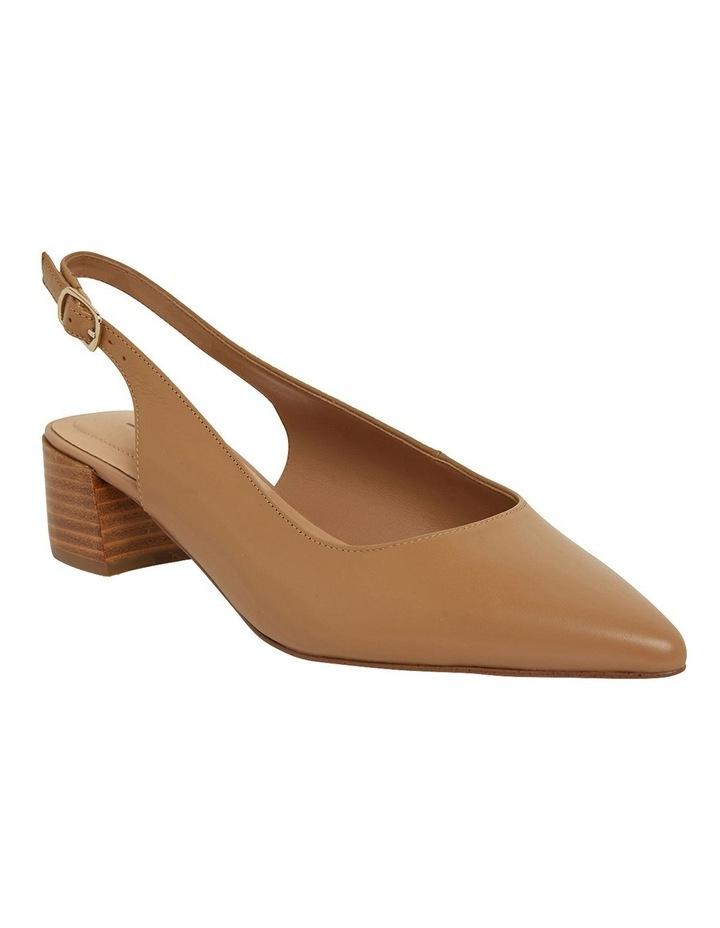 Dena Camel Glove Heeled Shoes image 2