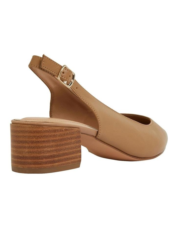 Dena Camel Glove Heeled Shoes image 4