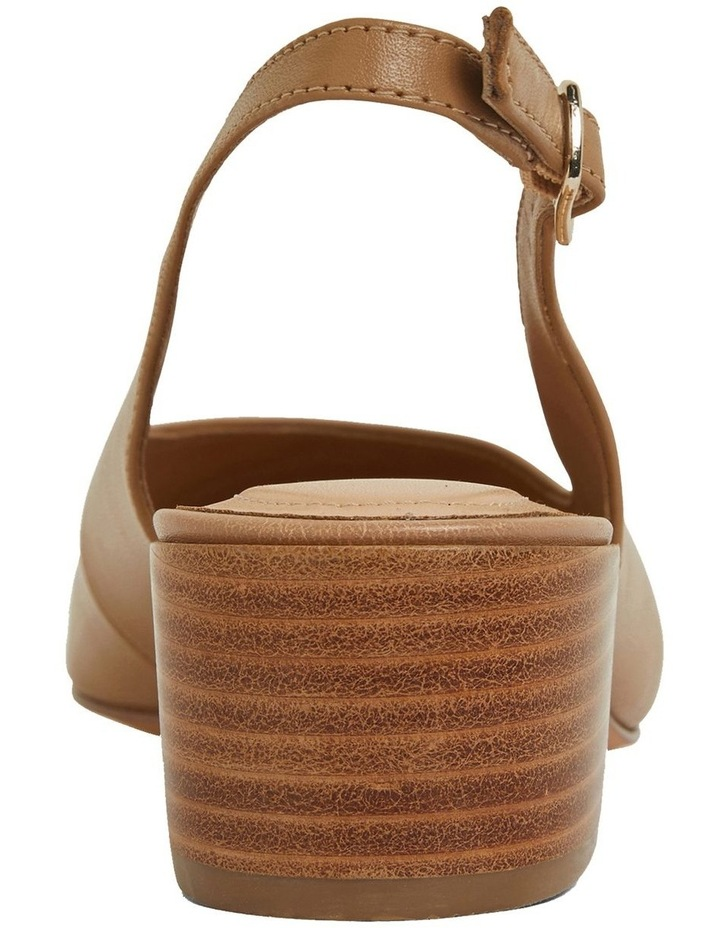Dena Camel Glove Heeled Shoes image 5