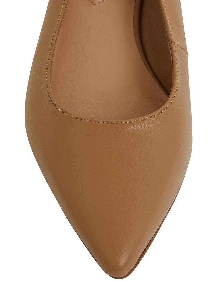 Dena Camel Glove Heeled Shoes image 6
