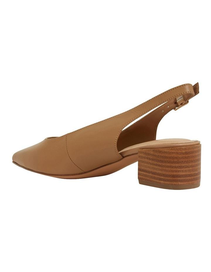 Dena Camel Glove Heeled Shoes image 7