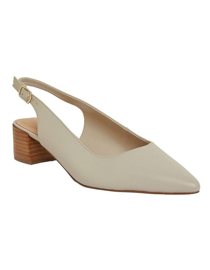 Dena Ivory Glove Heeled Shoes image 2