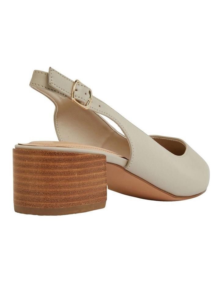 Dena Ivory Glove Heeled Shoes image 4