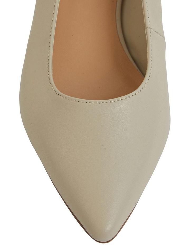 Dena Ivory Glove Heeled Shoes image 6