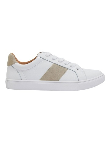 WHITE/TAUPE SUEDE colour