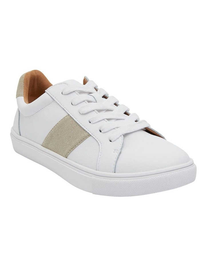 Storm White/Taupe Suede Sneaker image 2