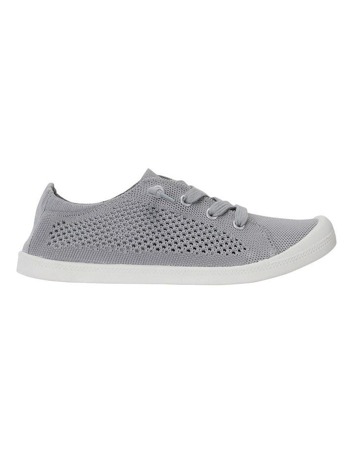 Lock Grey Knit Sneakers image 1