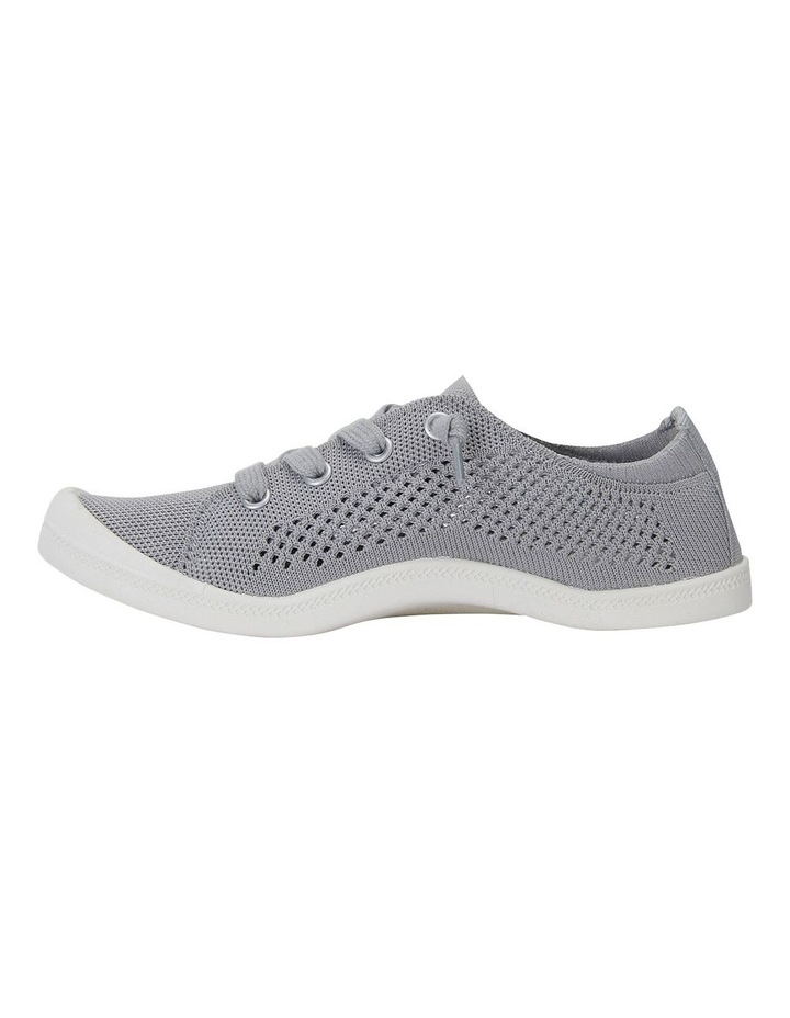 Lock Grey Knit Sneakers image 3