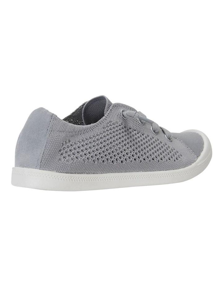 Lock Grey Knit Sneakers image 4