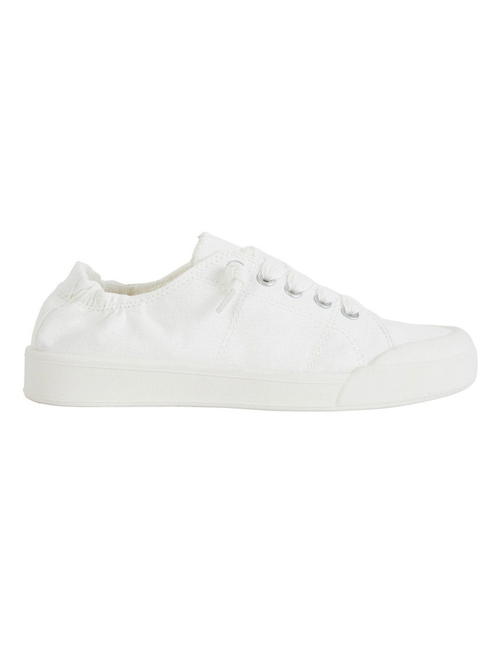 Switch White Canvas Sneakers image 1