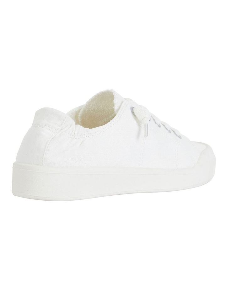 Switch White Canvas Sneakers image 2