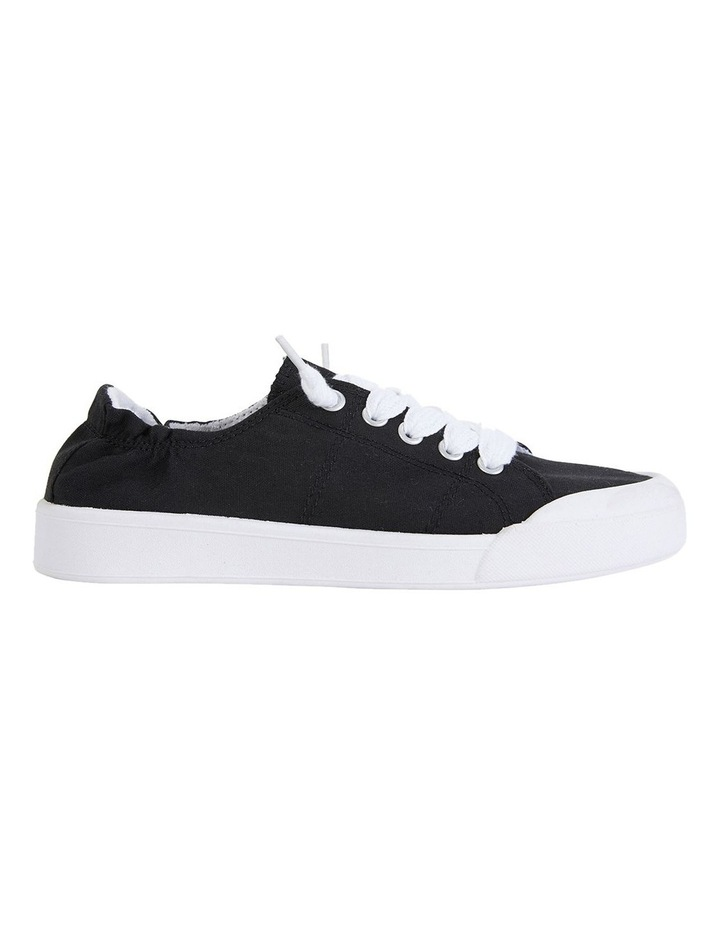 Switch Black Canvas Sneakers image 1