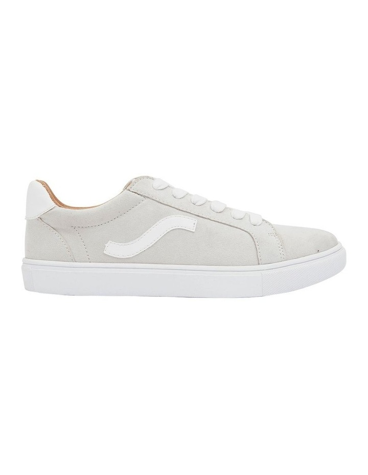Swerve Taupe Micro Suede Sneakers image 1