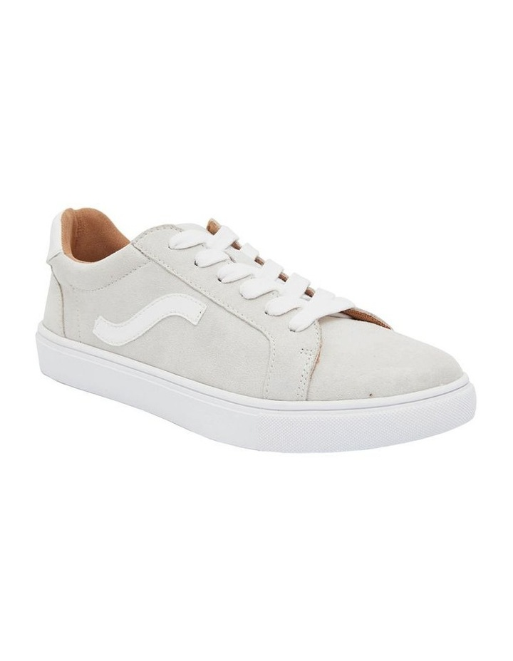 Swerve Taupe Micro Suede Sneakers image 2