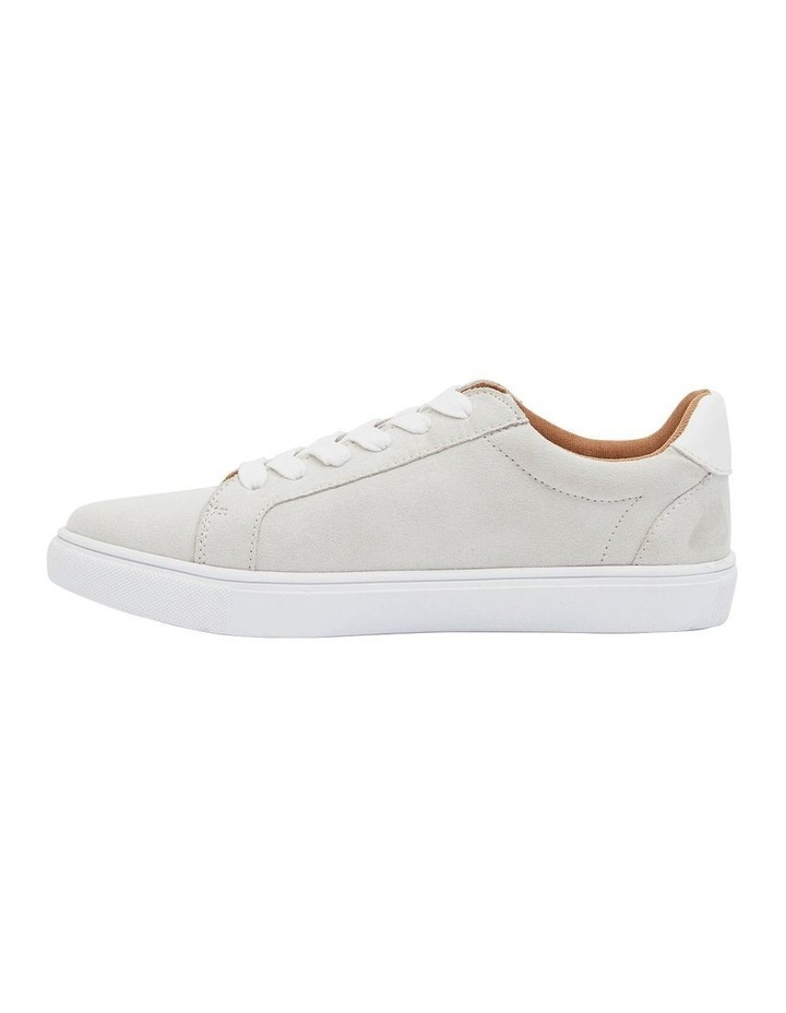 Swerve Taupe Micro Suede Sneakers image 3