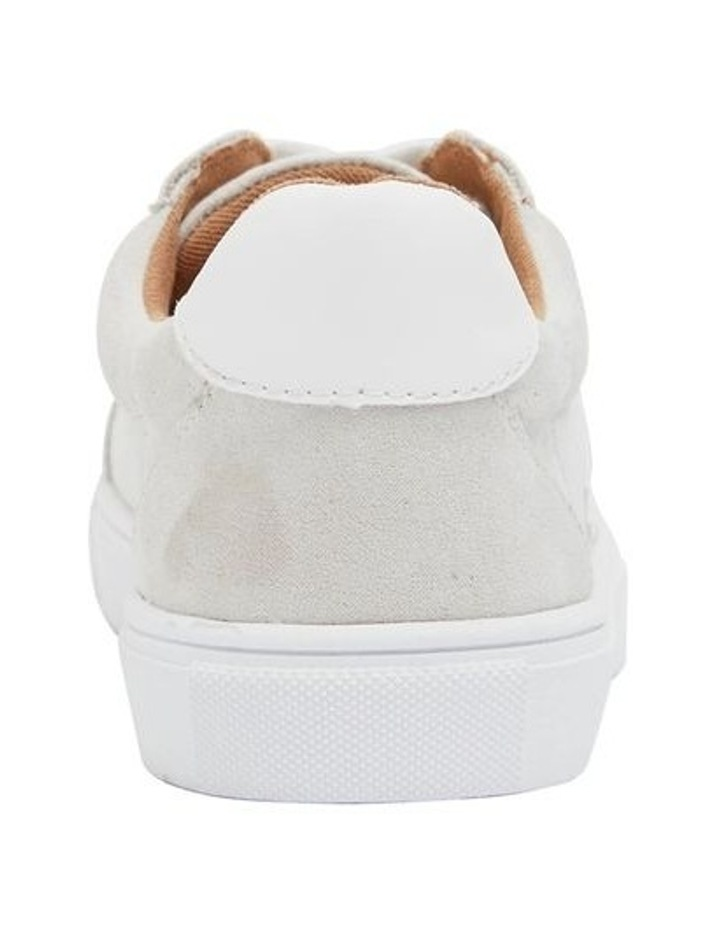 Swerve Taupe Micro Suede Sneakers image 5