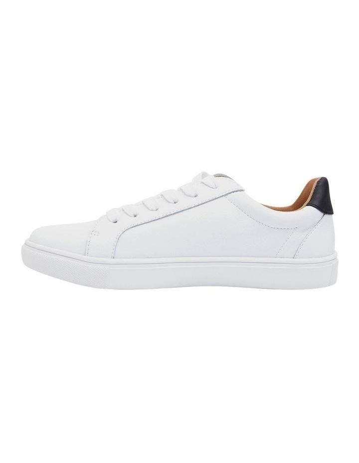 Saxon White Glove/Black Sneakers image 1