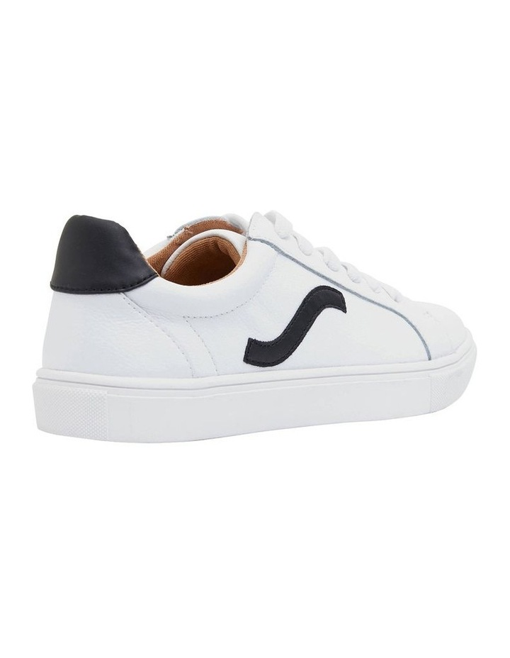 Saxon White Glove/Black Sneakers image 2