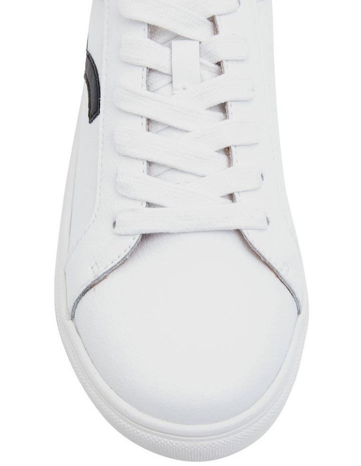 Saxon White Glove/Black Sneakers image 4