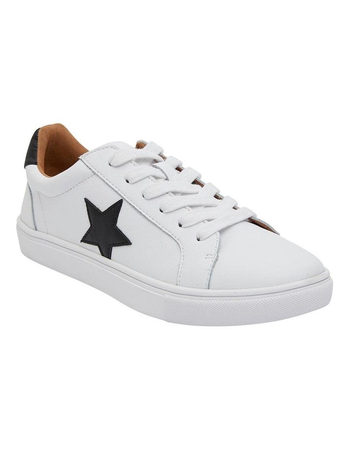 Stark White /Black Sneakers image 2