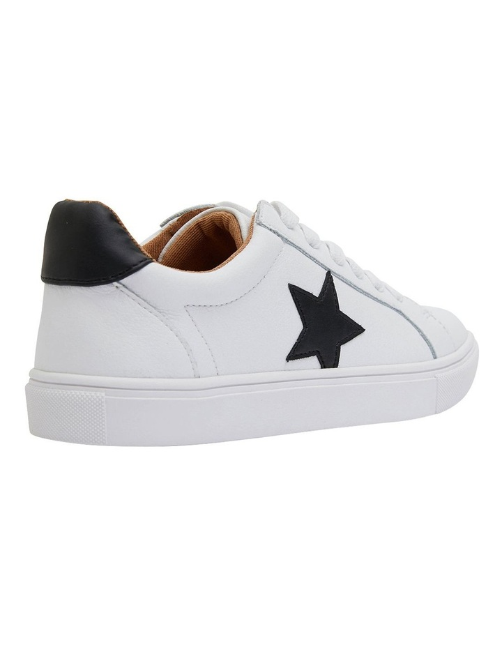 Stark White /Black Sneakers image 4