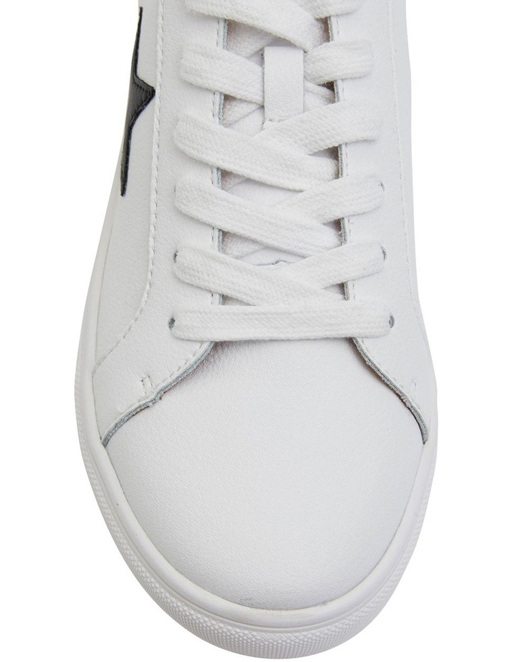 Stark White /Black Sneakers image 6