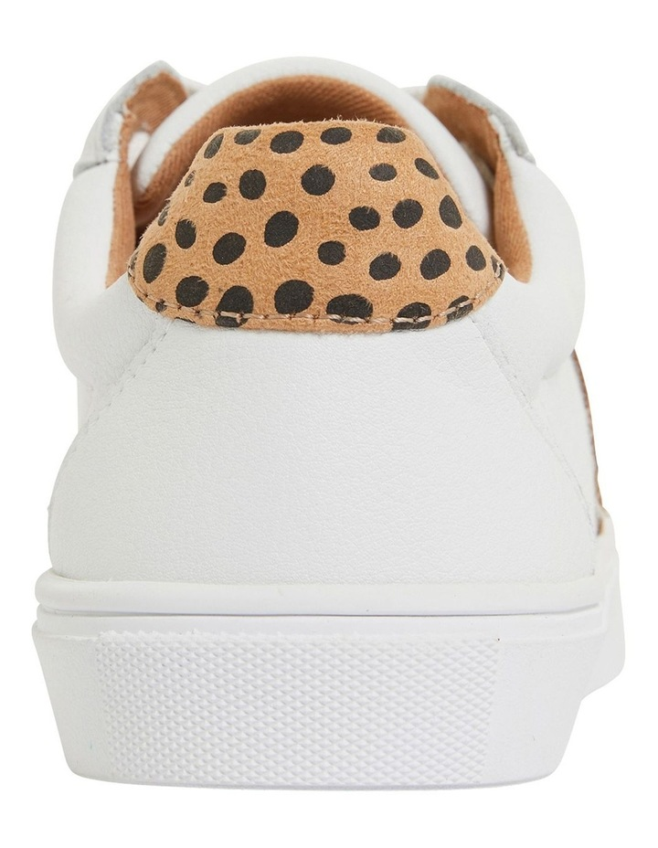 Stark White/Animal Sneakers image 5