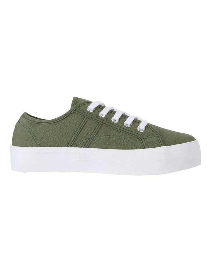 Scott Khaki Canvas Sneakers image 1