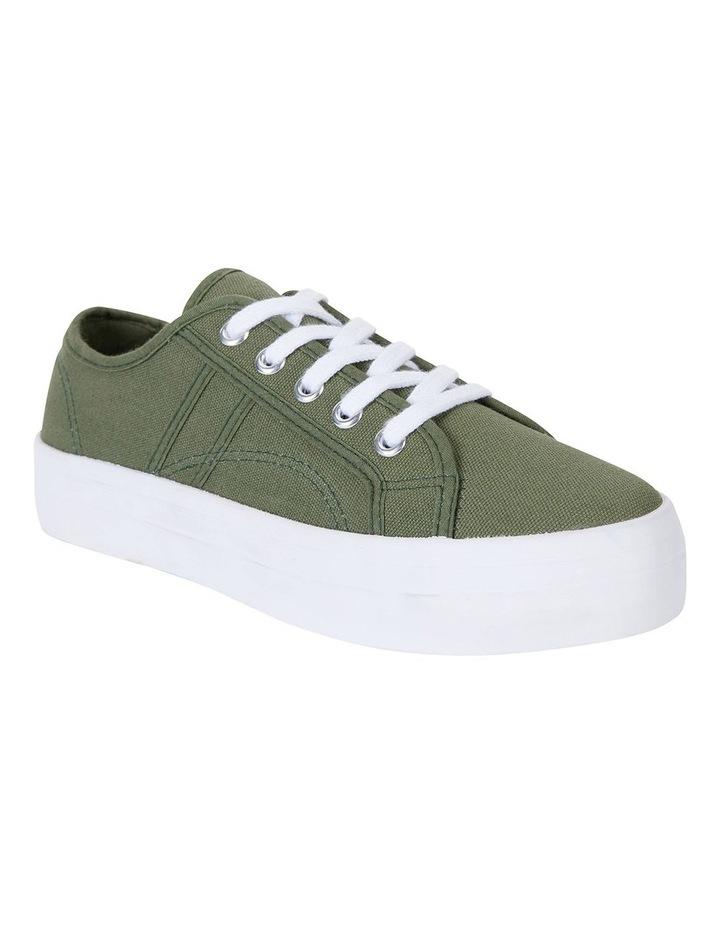 Scott Khaki Canvas Sneakers image 2